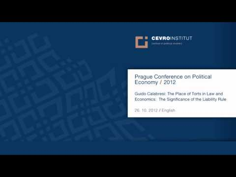 Prague Conference on Political Economy (PCPE) 2012 / Guido Calabresi / English