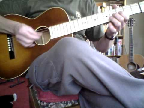 When The Levee Breaks - Memphis Minnie / Del Rey Cover - May-Bell Parlour Guitar