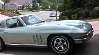 1966 327 Corvette Coupe Test Drive