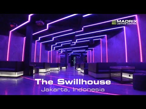 MADRIX @ The Swillhouse - Bar and Creative Event Space Jakarta, Indonesia