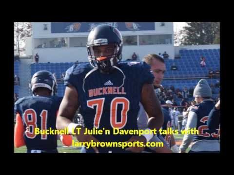 Julie'n Davenport - NFL OL Draft prospect interview
