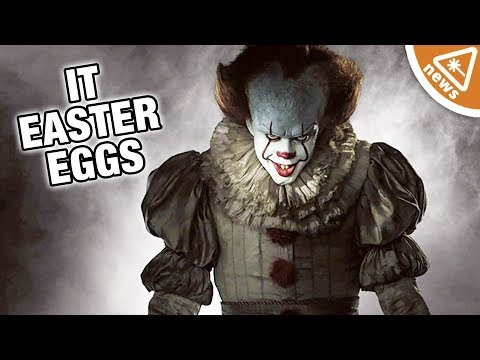 6 Easter Eggs You May Have Missed in IT! (Nerdist News w/ Jessica Chobot)