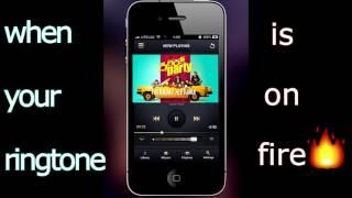 i phone ringtone!!kirik party|hamma song
