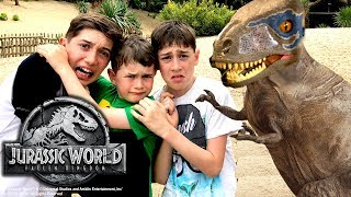 Jurassic World Kids Parody – Thrilling Jurassic World Dinosaur Hunt!!