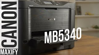 Canon Maxify MB5340: обзор принтера