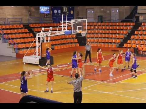 jornada 20  1ª nacional   castilla sport club 49 - 52 cb agustinos eras 18-3-17 EL PLANTIO (burgos)