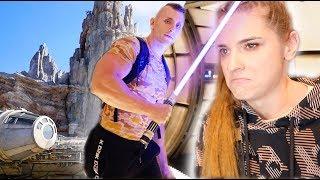 Owca wydał 1000 zł na miecz świetlny *Star Wars Galaxy's edge*
