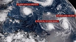 "Hurricane Florence forecast: ""Little in the atmosphere"" to slow storm"