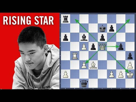 Rising Star - Xiong vs Vishnu Prasanna | Chess.com Isle of Man International 2018
