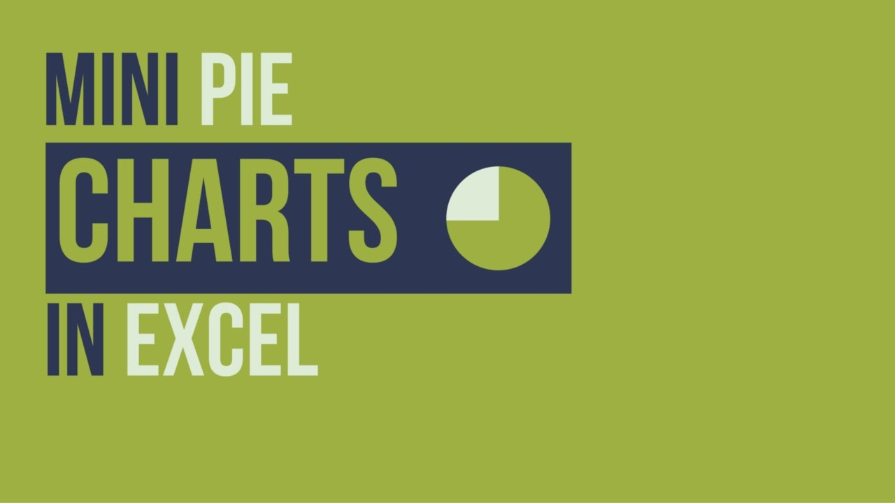 how to make a pie chart in excel 2007 youtube