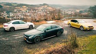 Enginesound: Alfa Giulia Q vs. BMW M3 vs. Mercedes-AMG C63 S