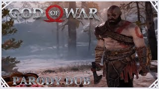 God of War (PS4) - Faye's Cremation | Parody Dub