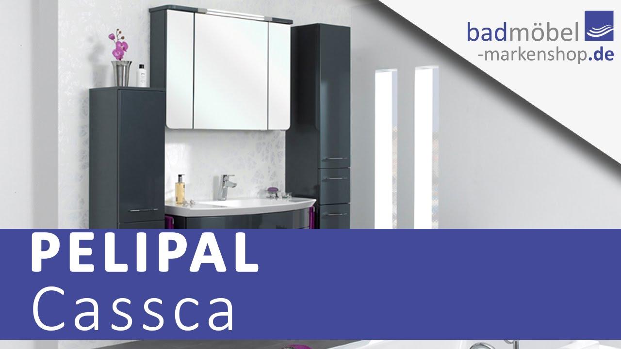 Pelipal Cassca Badmöbel - YouTube