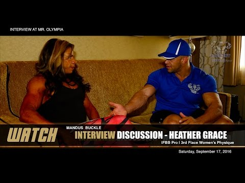 INTERVIEW with IFBB Pro  Heather Grace  2016 Olympia