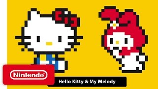 Super Mario Maker – 'Hello Kitty & My Melody' Gameplay