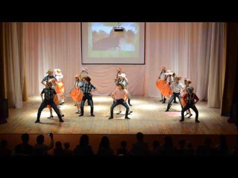 """Образцовый ансамбль танца """"Гульдар"""" - Американские ритмы """"Кантри"""""""