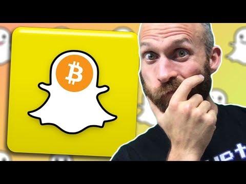 Snapchat Loves Crypto (new BTC Price Prediction)