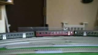 鉄道模型 月影急行 026 DBET420 と BLS Ae8/8