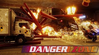 A BURNOUT CRASH MODE GAME! | Danger Zone Gameplay