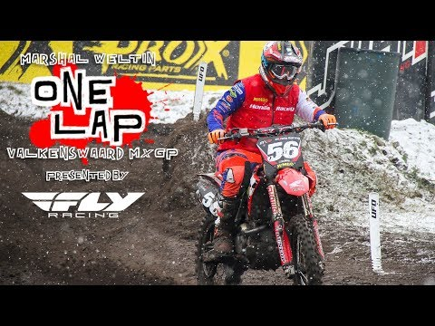 Track Preview/One Lap: 2018 MXGP of Valkenswaard in the Snow - Marshal Weltin
