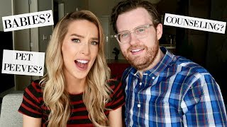 HAVING BABIES? PET PEEVES? COUPLES COUNSELING? WHOA. | Q&A leighannsays
