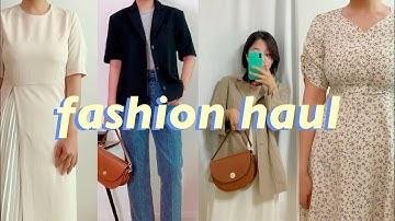 [안보면 후회할 패션하울] 착한 가격 착한 퀄리티 여름 패션하울   대학생 직장인 여자 여름패션   키작녀 데일리룩   FASHION HAUL TRY-ON   OUTFiT