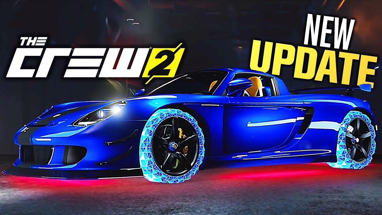 The Crew 2 - NEW UPDATE COMING! (Porsche Carrera GT, Neons & MORE!