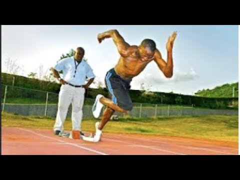 Usain Bolt - Training Session