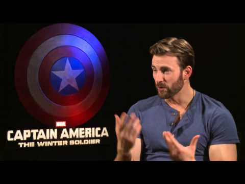 Marvel's Captain America: The Winter Soldier - Chris Evans on Captain America
