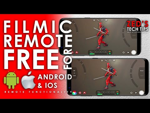 Free Filmic Remote For Android And IOS (FilmicPro Remote Functionality)