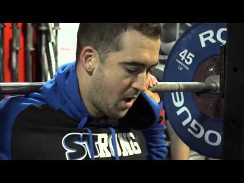 Ben Smith Squats Like a Madman with Silent Mike