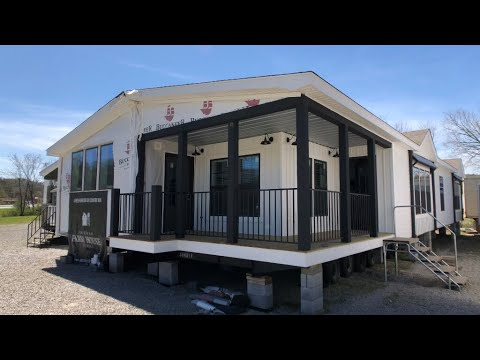 Lulamae farmhouse 32x70 3 bedroom 2 bath youtube - Clayton homes terminator 4 bedroom ...