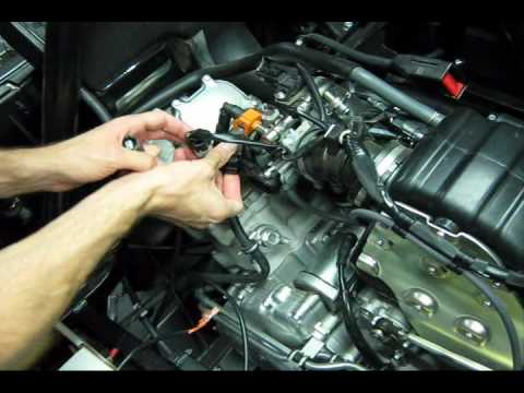 1990 ford f 150 ignition module wiring diagram dfs7 26 dynatek ignition install video for rhino 700 youtube ford module wiring