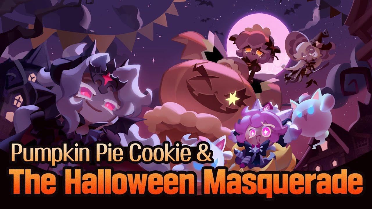 Trick or Treat! 👻 It's Pumpkin Pie Cookie 🎃