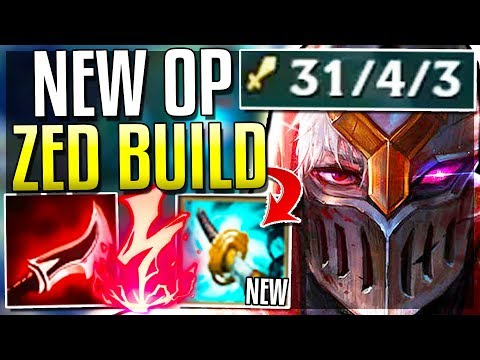 NEW ITEM STORMRAZOR MAKES ZED GODTIER! HOW DO YOU FIGHT THIS?  League of Legends