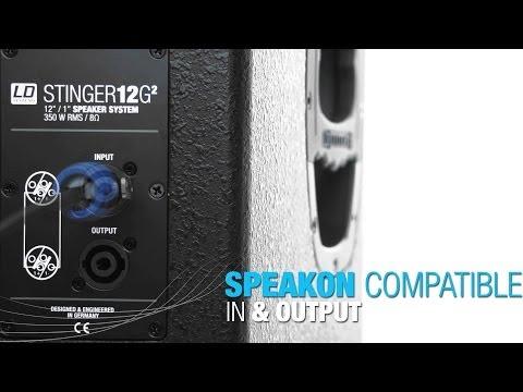 """LD Systems STINGER 12 G2- 12"""" PA Speaker passive"""