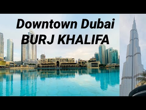 Downtown Dubai | BURJ KHALIFA 2020 | Christmas 2020 | DUBAI MALL Part 1