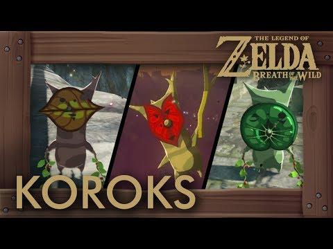 Zelda Breath of the Wild - All Korok Seeds (Hyrule Castle) Locations #875 - #900