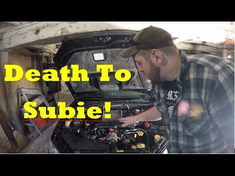 Another Subaru Down!