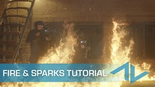 Video How to Composite Fire, Sparks, and Smoke Elements in After Effects download MP3, 3GP, MP4, WEBM, AVI, FLV Juni 2018