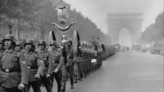 Оккупация Франции  1940 год  Реальные съёмки