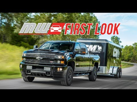 First Look: 2017 Chevrolet Silverado 2500 HD - High-Class Worker