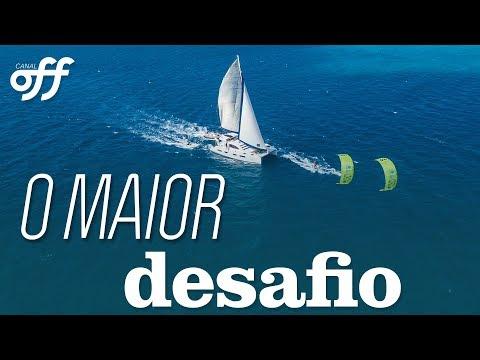 Kite em Los Roques com Reno Romeu e JD Edde | Kite Extremo | Canal Off