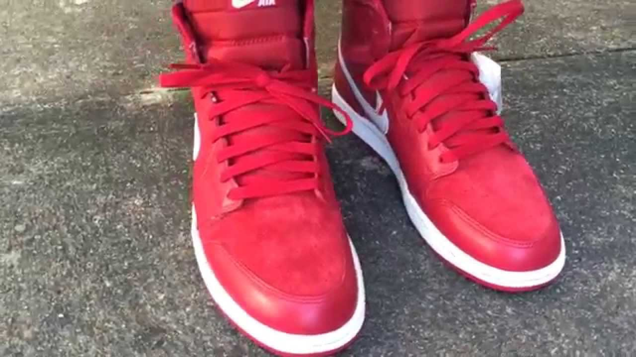 new arrival fb7c8 3b5be Air Jordan 12 Gym Red On Feet backgroundheaven.co.uk