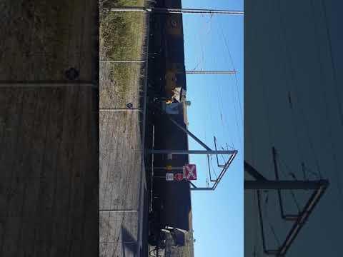 Coal train in Queensland