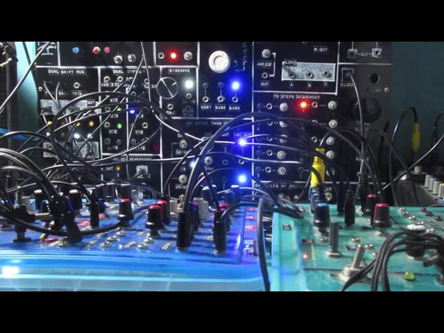 Homemade Modular Synth Ritual Tribal Patch d[o-o]b