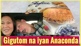 May ka video chat si Asawa | Eating Skyline Chili