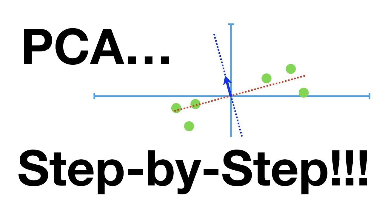 statquest  principal component analysis  pca   step