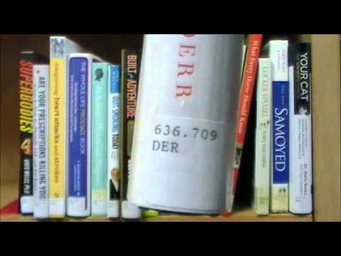 How to shelve library materials