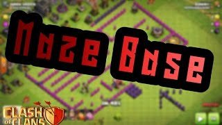 Clash of Clans Let's Play #2/ Maze Base